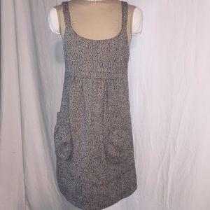 Theme Wool Blend Brown Jumper Dress Sz Small
